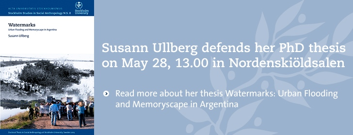 Public defence of PhD thesis - Susann Ullberg