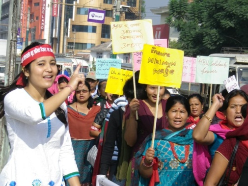 Demonstration on Home-based Workers