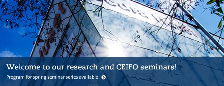 Research and CEIFO seminars spring 2018