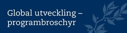 Global utveckling – programbroschyr (introduktion)