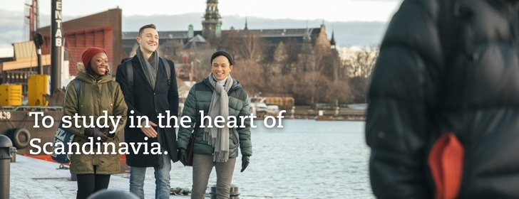 To study in the heart of Scandinavia
