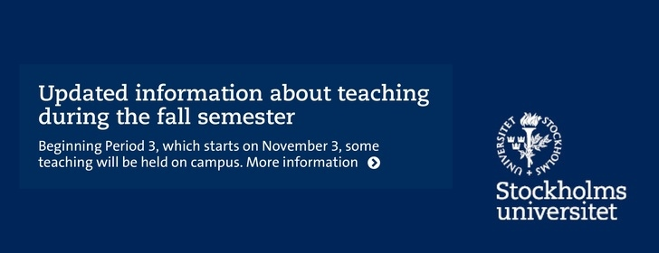 Updated information about teaching during the fall semester