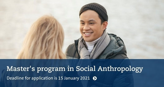 Master's Programme in Social Anthropology